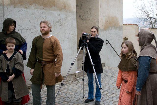 fotka z natáčení